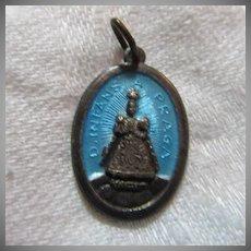 Enamel Infant Jesus Of Prague Medal