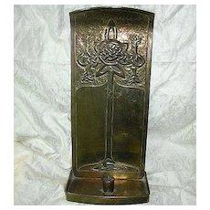 McIntosh School Arts & Crafts Candle Stand 19th century