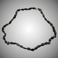 Polished Emeralds Rock Beads Necklace