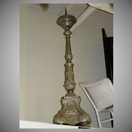 Old Large Paschal Church Candlestick