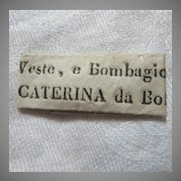 St Catherine of Bologna Paper Reliquary