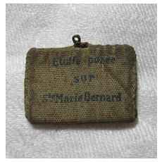 Saint Marie Bernard Pocket Reliquary