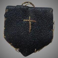 Agnus Dei in Hand Sewn Satin Pouch