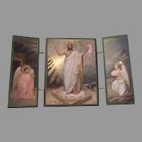 Five Panel Icon Jesus Angels