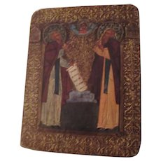 Russian Old Printed Icon Catholic Orthodox Religious Art
