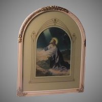 Jesus Praying  Gethsename Art Religious Print