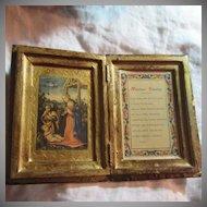 Italian Florentine Marriage Blessing Nativity Art Catholic Christianity Art