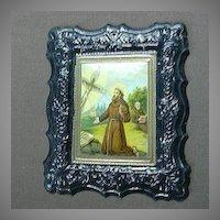 Religious Art St Francis Stigmata Embossed Print
