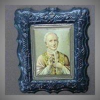 Pope Leo XIII  Religious Art  Embossed Print