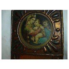 Florentine Madonna Of The Table Religious Art Miniature