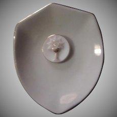Eucharist Communion German Porcelain Ring PIn Bowl