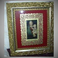 Framed Madonna & Child Art  Madonna Del Granduca After Raffael