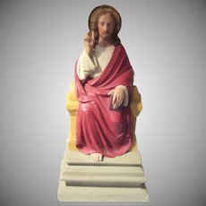 Jesus Large Wall Statue From Church