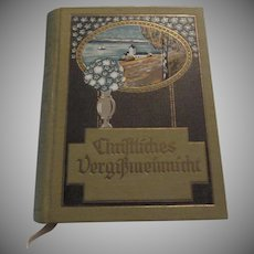 Christliches Vergißmeinnicht  Illustrierte Ausgabe German Illus Bible Quotes Birthday Book
