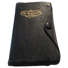 The New Testament Leather 1942 Snap Closure Pronouncing Edition
