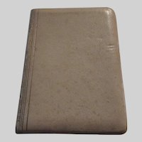 Leather Miniature English Italian Dictionary