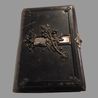 Gebetbuch Katholisch German 1884 Religious Catholic Antique Book Ornate Binding