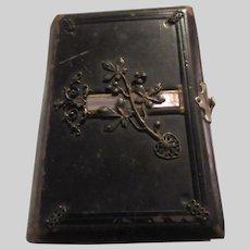 Gebetbuch Katholisch German 1884 Religious Catholic Antique Book Ornate Binding