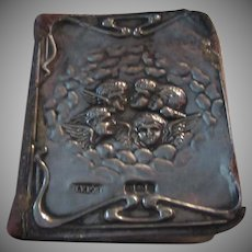 Hymns Ancient and Modern Miniature Book Sterling Angels Cover