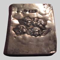 Miniature Book of Common Prayer Sterling Silver Angels Cover