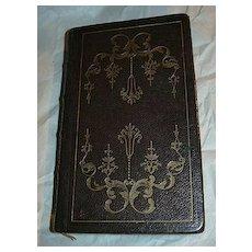 Book Of Common Prayer 1842 Oxford University Press Wine Leather