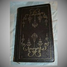 Book Of Common Prayer 1842 Oxford University Press Wine Leather