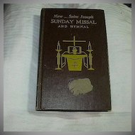New Saint Joseph Sunday Missal & Hymnal 1968