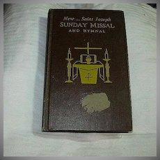 New Saint Joseph Sunday Missal & Hymnal 1968