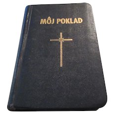 Moj Poklad 1945 Slovak Prayer Book Catholic