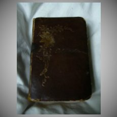 Palmgartlein 1863 German Prayer Book Catholic