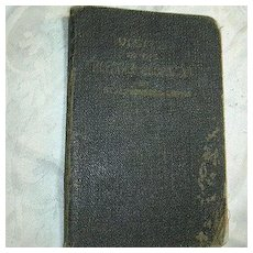 Visits To The Most Blessed Sacrament St Alphonsus De Liguori Old Prayer Book