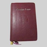 Christian Prayer Liturgy of the Hours 1976 Prayer Book