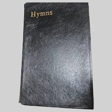 Hymns Ancient and Modern Old Hardback Prayer Hymnal Book