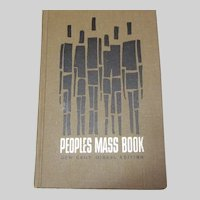 Peoples Mass Book New Daily Missal Edition 1966