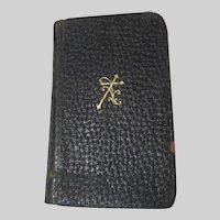 Manual Of Catholic Devotions 1925 Pocket Size Religious Book