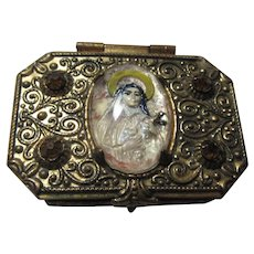 Small Rosary Case St Therese