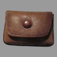 Old Fine Leather Rosary Jewelry Case