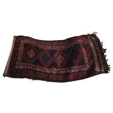 Persian Rug Bag Tribal Middle Eastern Textile Carpet