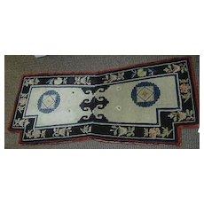 Old Chinese Oriental Rug Carpet Saddle Bag Cover