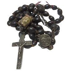 Antique Rosary From Nun's Estate France