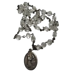 Saint Anthony Crystals Beads Chaplet Rosary Chicago