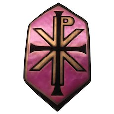 Religious Patch From Old Priests Vestments