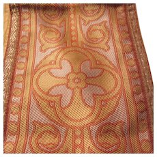 Old Priests Mass Long Shawl Altar Runner Piece