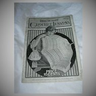 Royal Society Crochet Lessons No 9 Needlework Book 1917