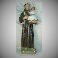 St Anthony Infant Jesus Statue Fine Catholic Christian Religious Figurine