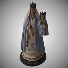 Harland Virgin Mary Infant Jesus Our Lady of Consolation Statue Figurine