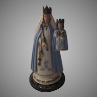 Hartland Virgin Mary Infant Jesus Our Lady of Consolation Statue Figurine