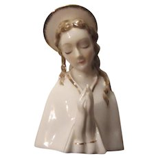 Virgin Mary Madonna Head Statue Figurine