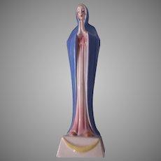 Virgin Mary Figurine Small Statue