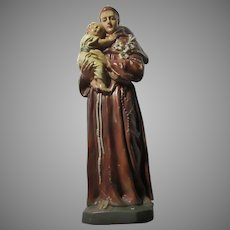St Anthony & Infant Jesus Large Statue